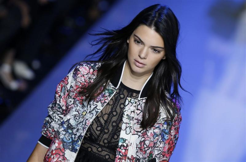 'Kendall loopt Victoria's Secret Show'