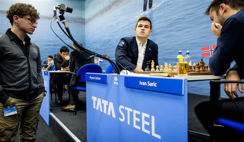 Carlsen en Giri weer in Tata Steel Chess