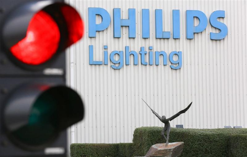 'Investeerders azen op lichtdivisie Philips'