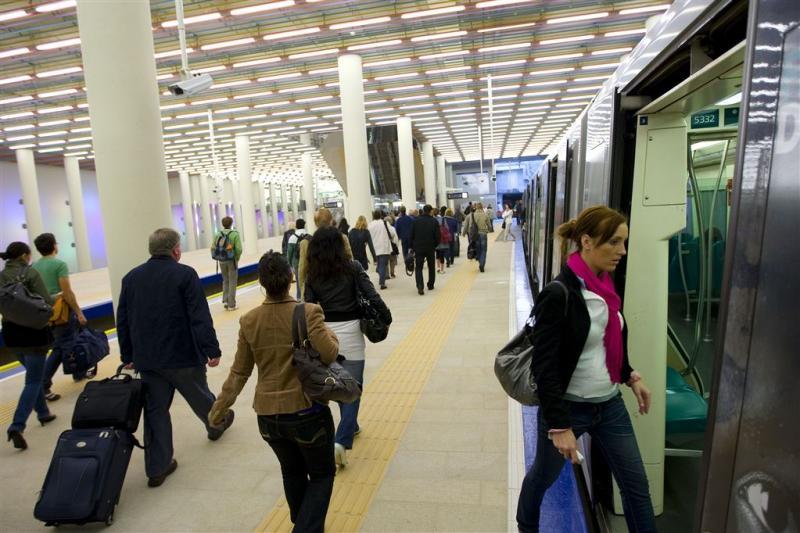 Muziek en geur in Rotterdamse metrostations
