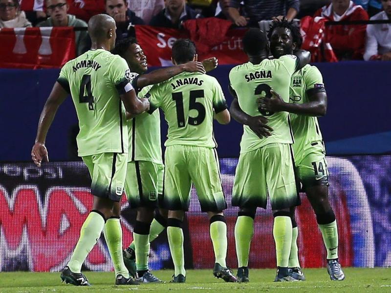 Manchester City naar knock-outfase