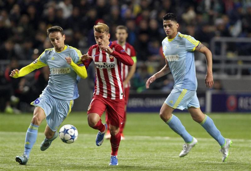 Astana houdt Atlético in bedwang