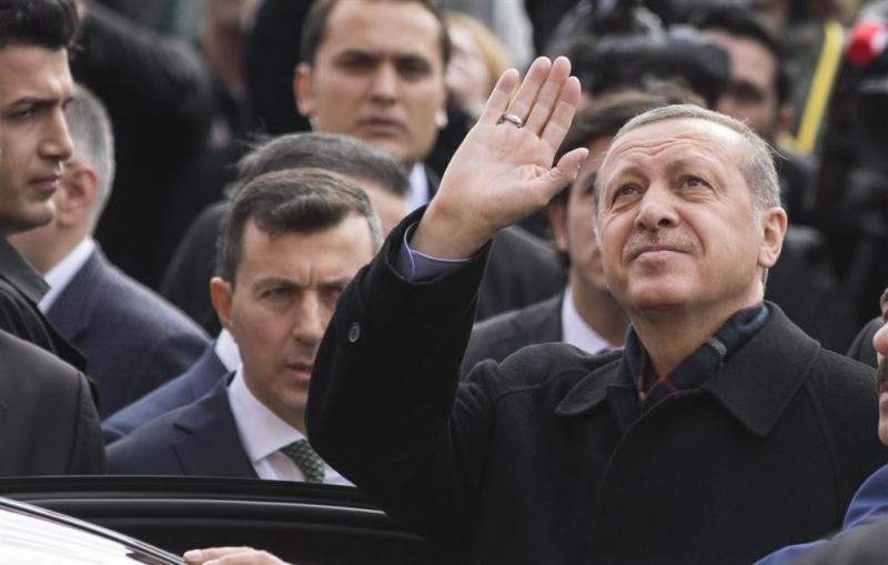 Erdogan: snel praten over nieuwe grondwet
