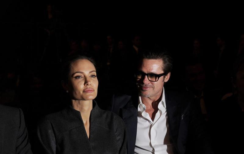 Jolie en Pitt even tussendoor getrouwd