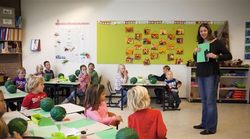 Loonsverhoging voor leraren basisscholen