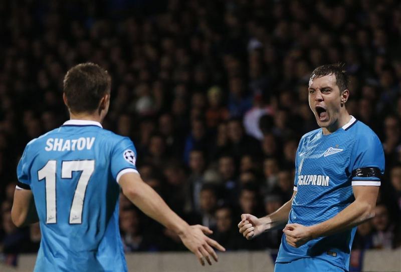 Zenit overwintert in Champions League