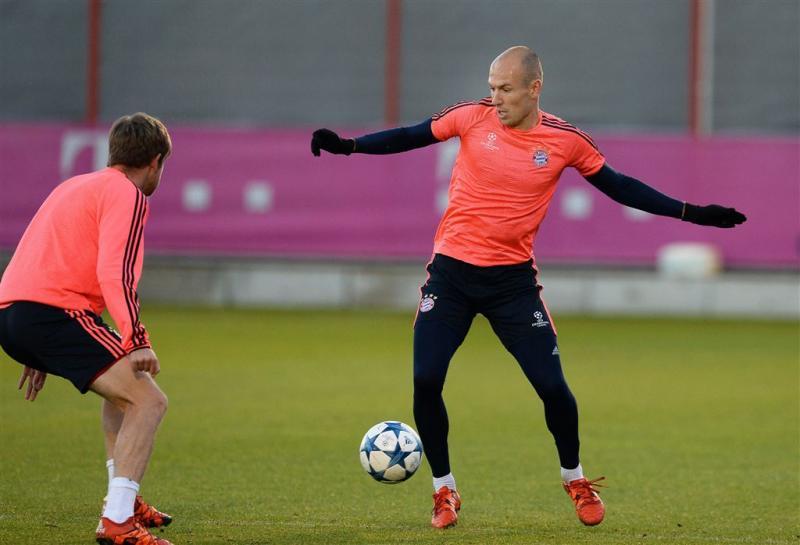 Bayern voorzichtig met Robben