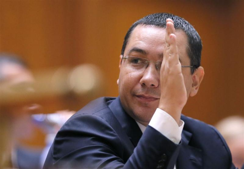 Roemeense premier Ponta treedt af