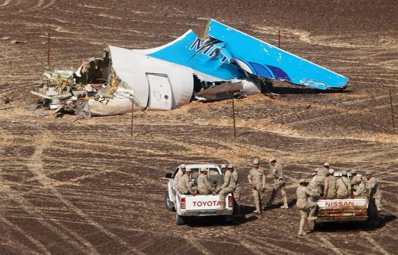 Londen: bom in toestel Sinaï aannemelijk
