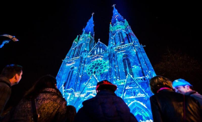 Lichtfestival Glow laat Eindhoven stralen