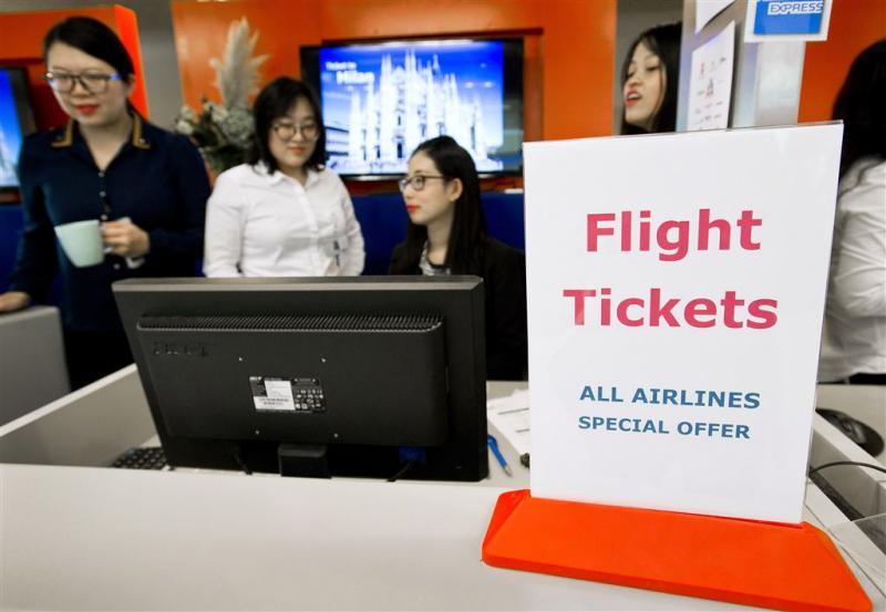 Vraag naar vliegtickets blijft sterk toenemen