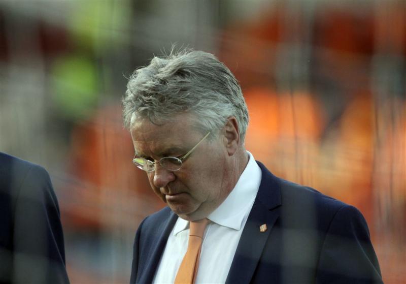 Hiddink had vertrouwen in plaatsing Oranje