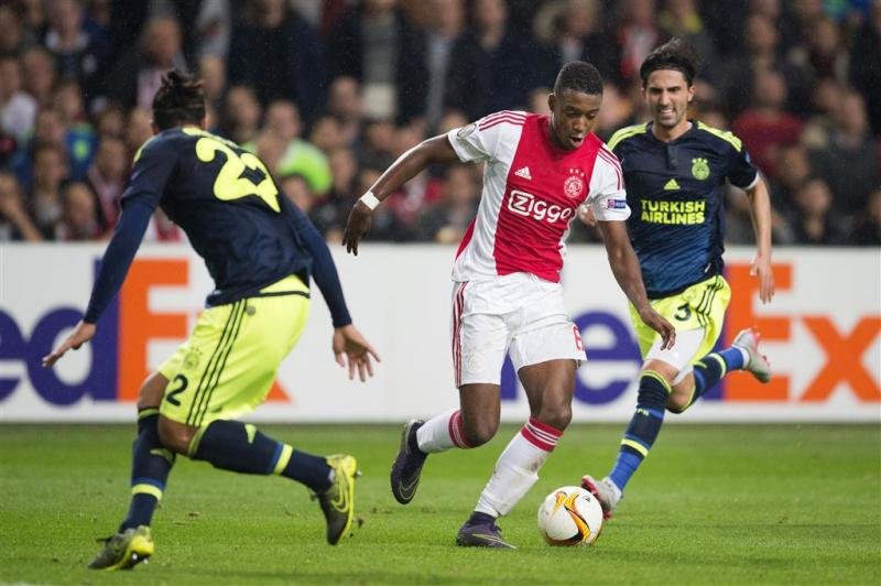 Ajax stelt ernstig teleur tegen Fenerbahçe