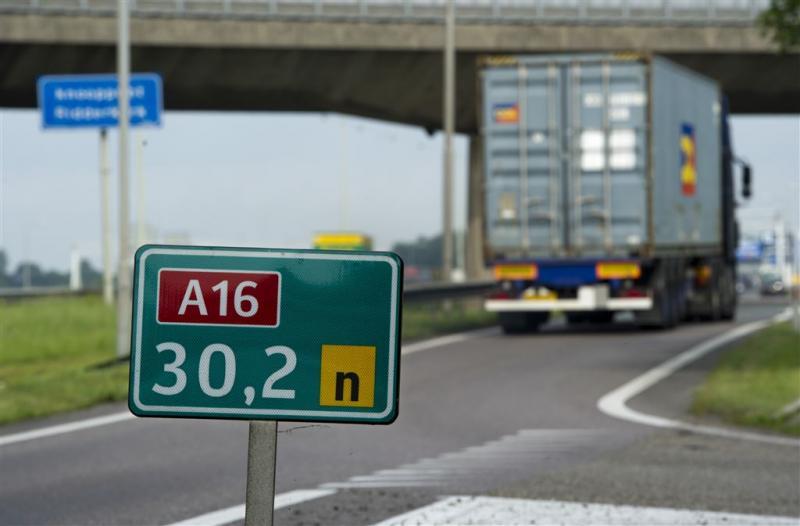 Bijna 11.000 krabbels tegen weg A13-A16