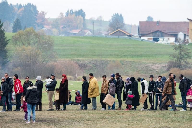 VN schatten 5000 migranten op elke winterdag