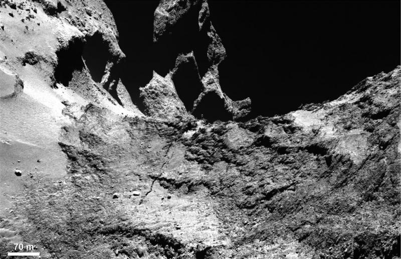 Na komeetlanding de komeetcrash