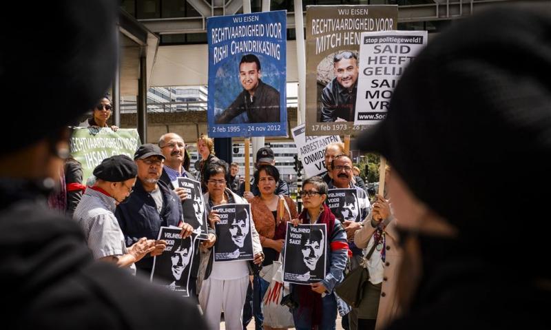 Henriquez dood door geweld agenten