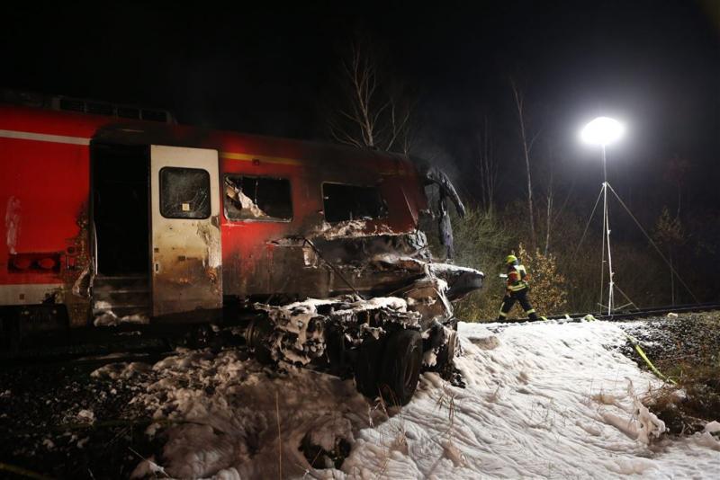 Doden en gewonden door treinongeval Duitsland