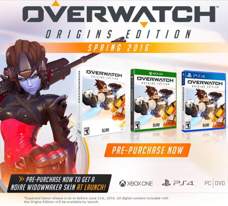 Overwatch Origins Editie