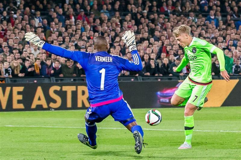 Vermeer met Feyenoord tegen Ajax