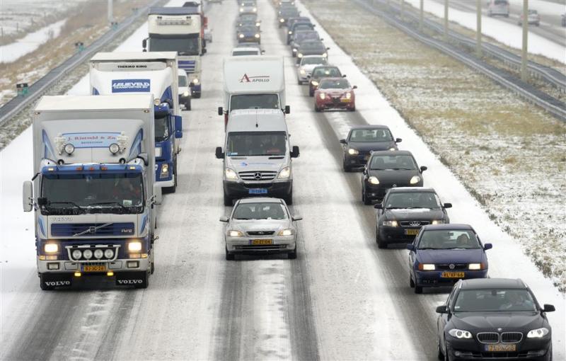 Nieuw wapen voor verkeer in bar winterweer