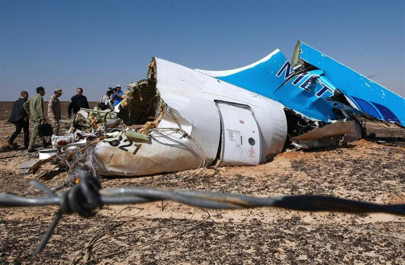 'Explosie in Russisch vliegtuig geen ongeluk'