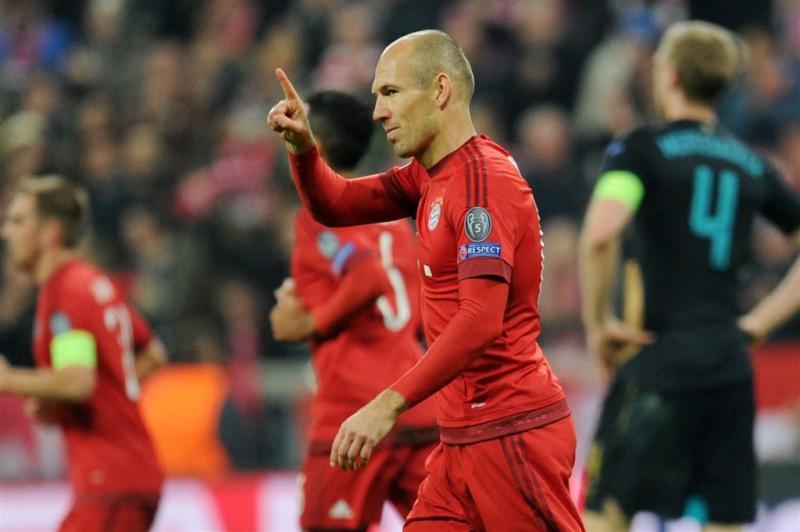 Robben en Vejinovic in selectie Oranje