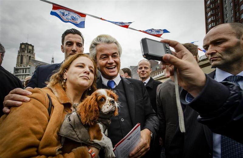 Wilders' PVV virtueel naar 38 zetels