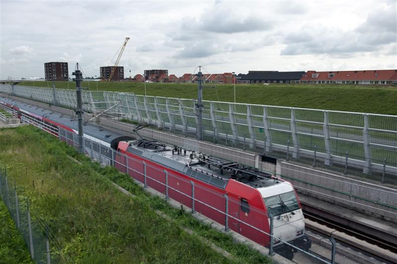 HSL-trein Bleiswijk ontruimd vanwege brand