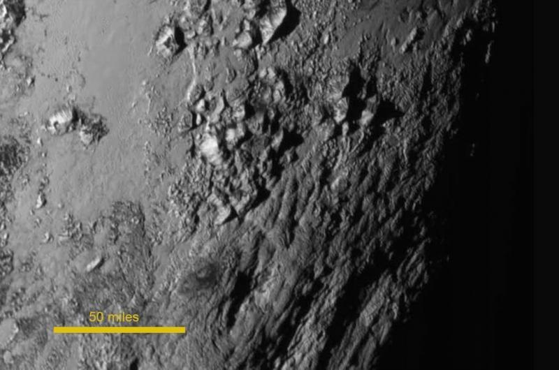 'Bergen op Pluto zijn ijsvulkanen'