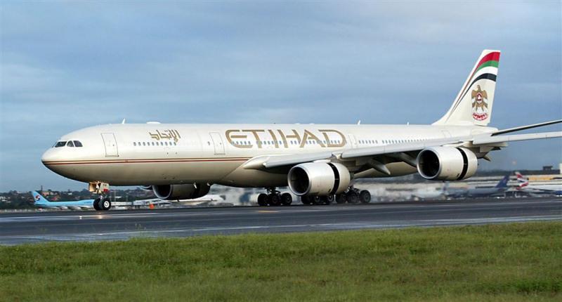 AF-KLM doet onderhoud aan vliegtuigen Etihad