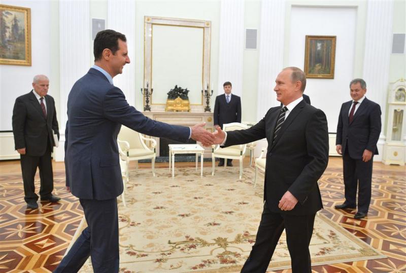 Rusland stelt overgangsperiode Syrië voor