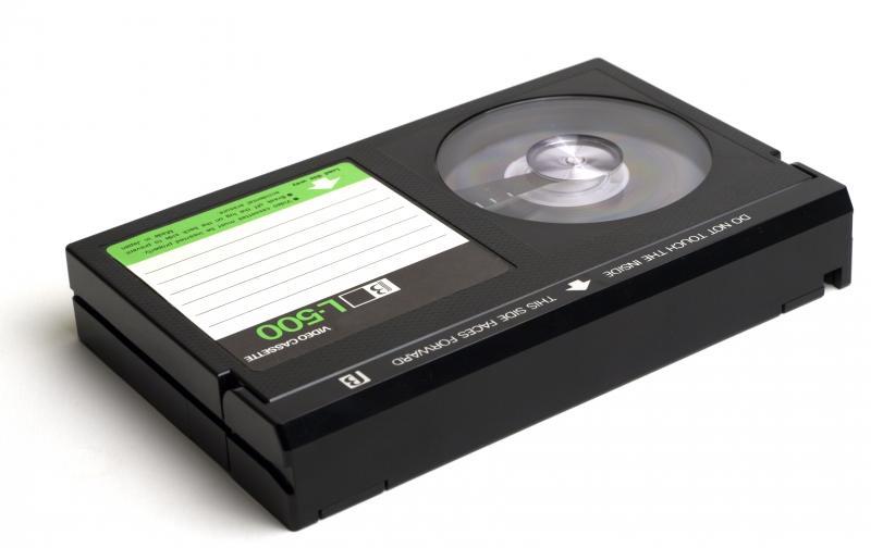Een betamax-tape