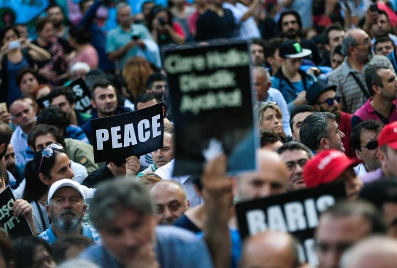 EU gealarmeerd over schendingen in Turkije