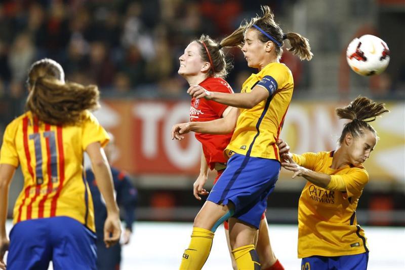 Vrouwenteam FC Twente verliest op eigen veld