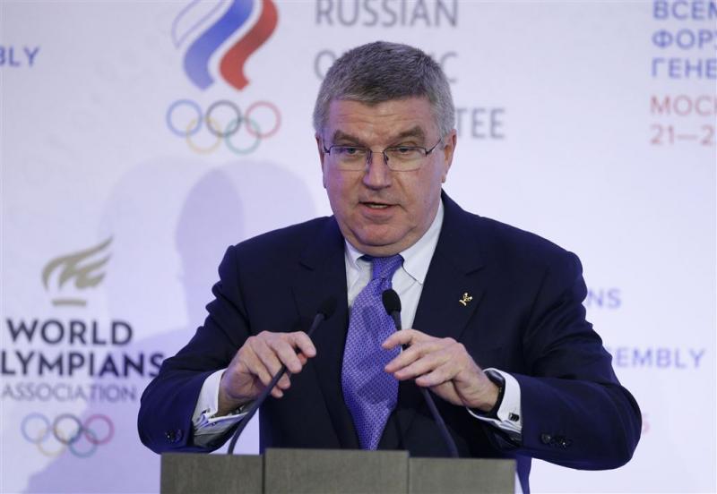 IOC-baas Bach rekent op Russen in Rio