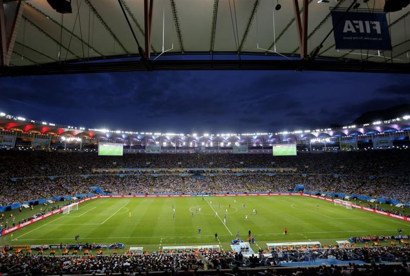 Olympische voetbalfinales in Maracanã