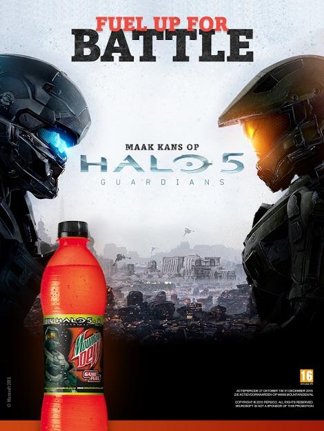 Mountain Dew Halo 5 prijsvraag