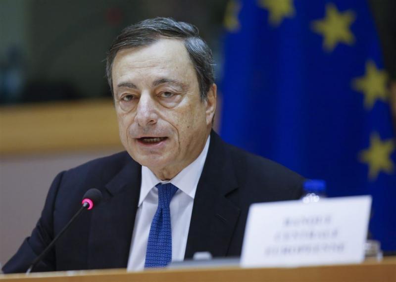 Draghi: duidelijke risico's economie eurozone