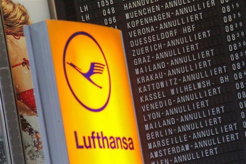 Lufthansa schrapt 933 vluchten voor donderdag