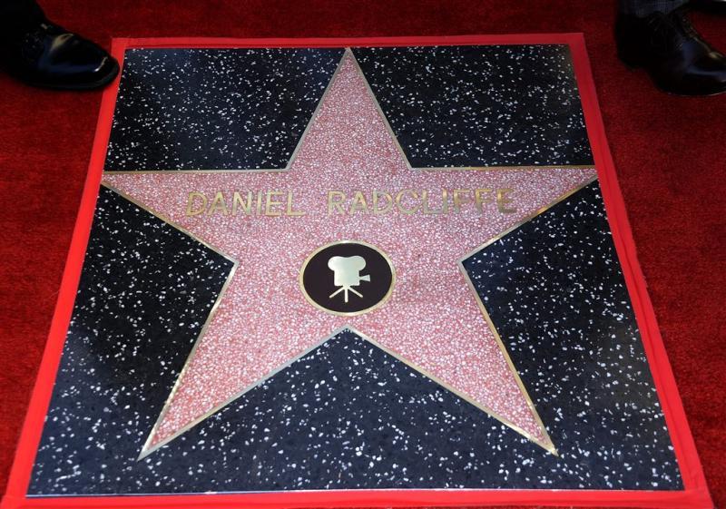 Daniel Radcliffe onthult Walk Of Fame-ster