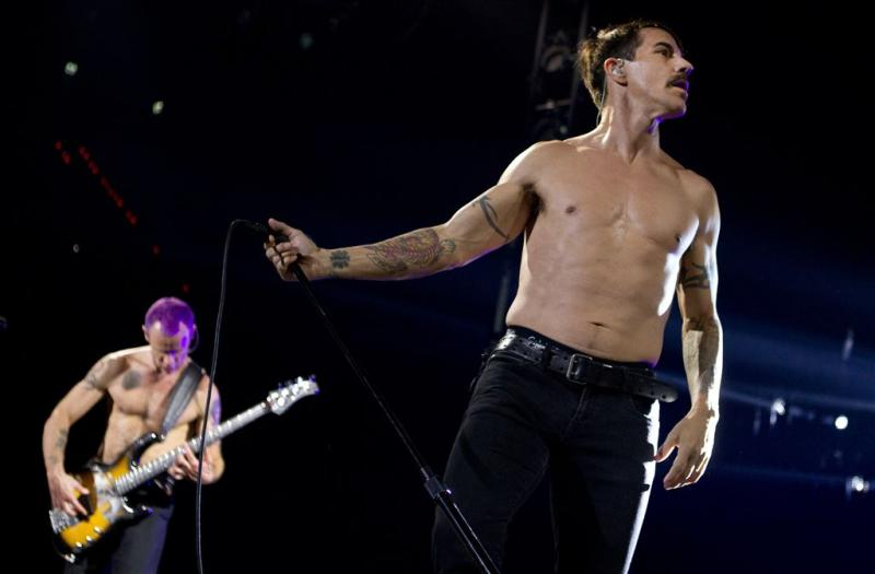 Red Hot Chili Peppers op Rock Werchter