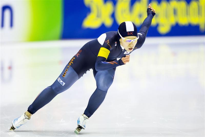 Lee Sang-hwa wint 500 meter in Calgary