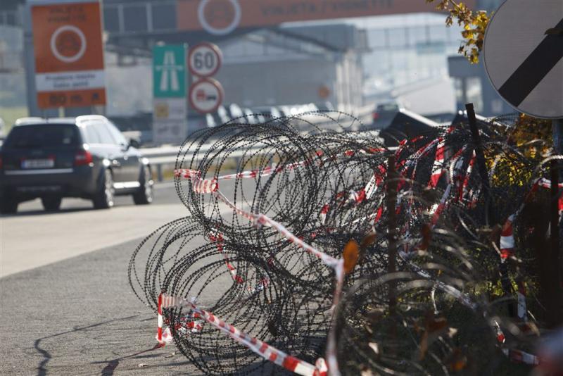 Oostenrijk bouwt hek bij grens met Slovenië