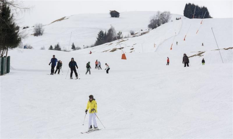 Meer mensen naar de sneeuw
