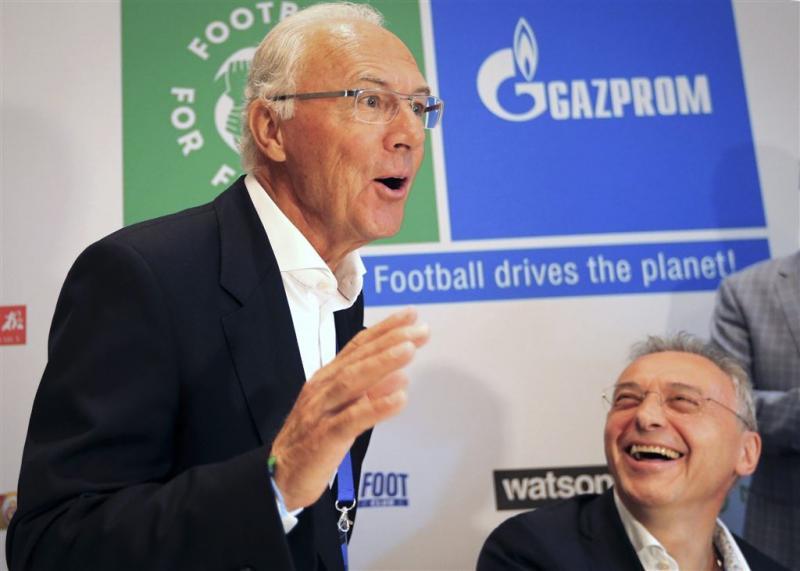 Sportministers manen Beckenbauer tot openheid