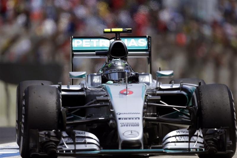 Rosberg wil Hamilton voorblijven in Brazilië