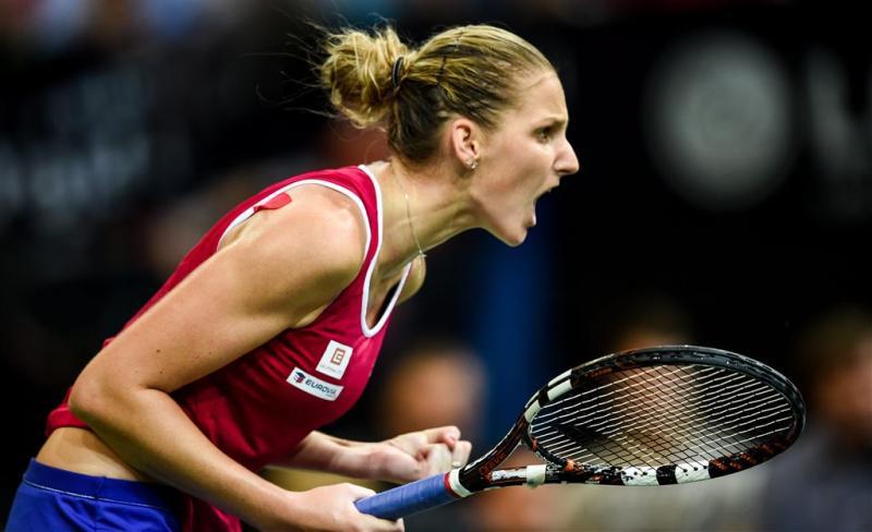 Tsjechische tennissters winnen Fed Cup
