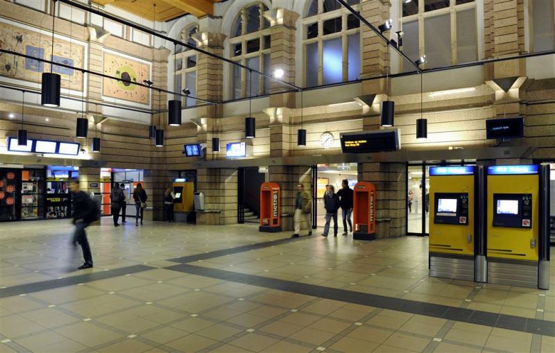 Ook minuut stilte in treinen en op stations