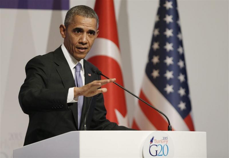 Obama: geen grondtroepen in strijd tegen IS